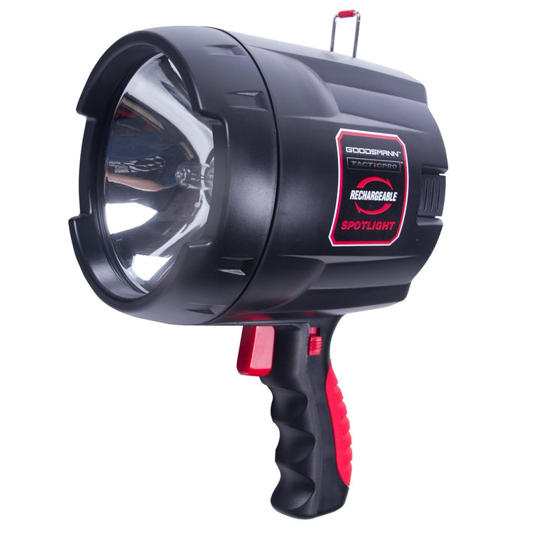 Goodsmann Tacticpro Bright Portable Cordledss Rechargeable Halogen Flood/Spotlight 9924-0011-08 - Venus Manufacture