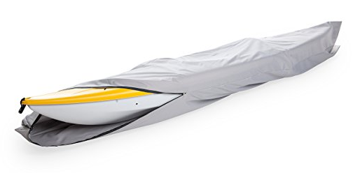 Goodsmann boat cover, Kayak cover, Canoe Cover, Silvery gray, water resistant, weather protection, trailerable, different size - Venus Manufacture