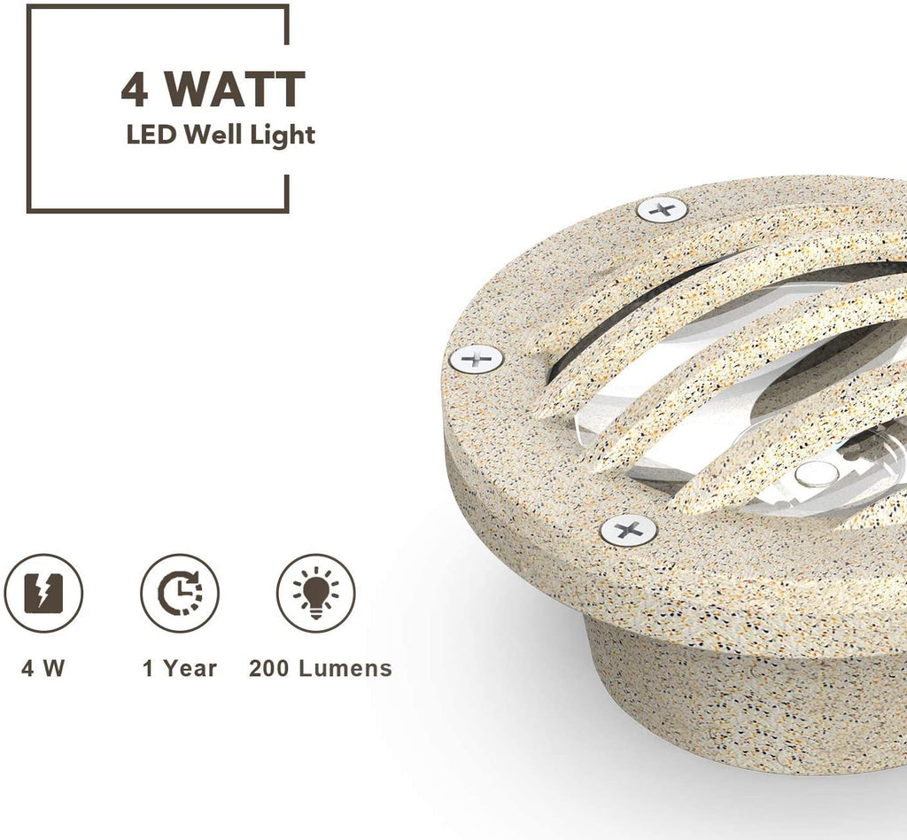 Malibu LED Well Light Low Voltage Landscape Lighting 8403-3500-01 - Venus Manufacture