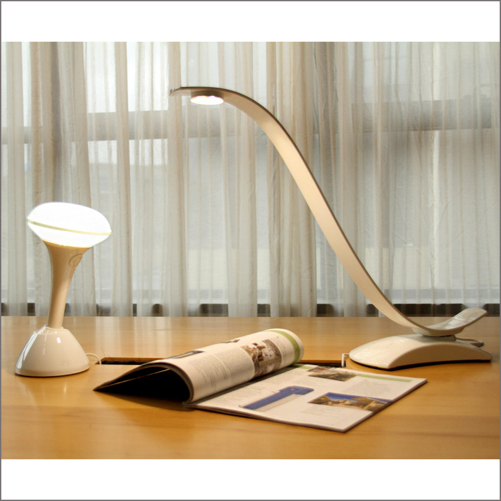Goodsmann i-eye intelligent LED desktop lamp, desk lamp, eye protection led light, piano baking varnish, free auxiliary light given(Patent Pending) (Black9924-0112-01) - Venus Manufacture