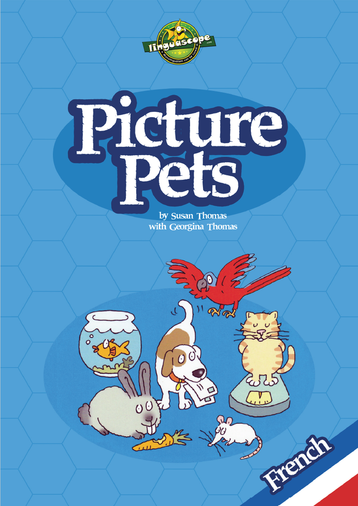 Picture Pets - French (Reproducible eBook)