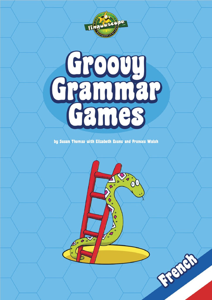 Groovy Grammar Games - French (Reproducible eBook)