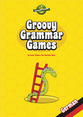 Groovy Grammar Games - German (Reproducible eBook)