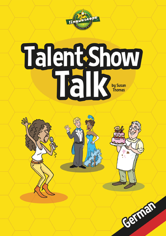 Talent Show Talk - German (Reproducible eBook)