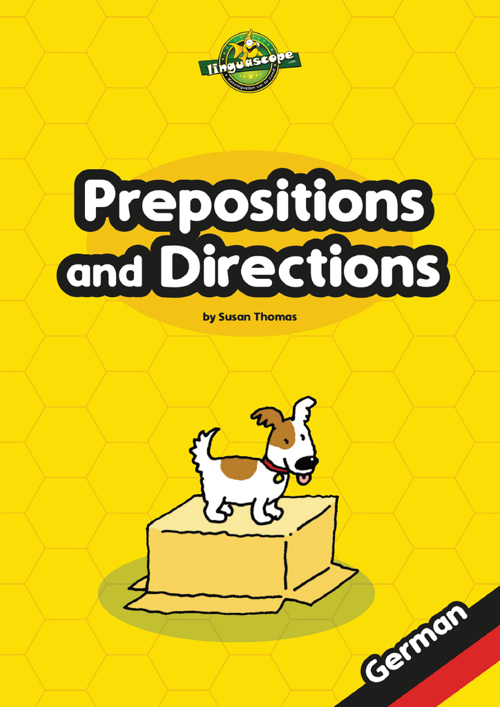 Prepositions and Directions - German (Reproducible eBook)