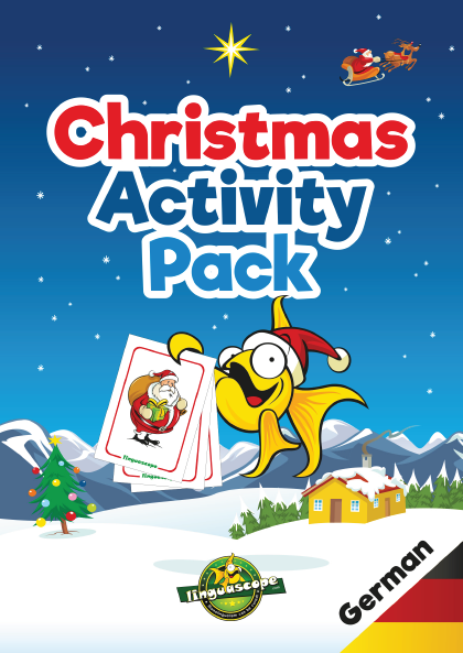 Christmas Activity Pack - German (Downloadable eBook)