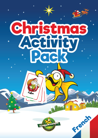 Christmas Activity Pack - French (Downloadable eBook)
