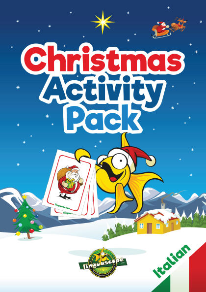 Christmas Activity Pack - Italian (Downloadable eBook)