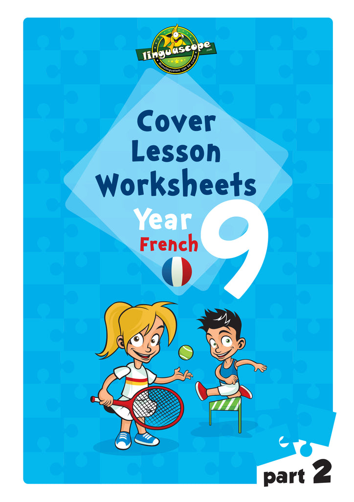 cover lesson worksheets year 9 french part 2 downloadable ebook linguascope. Black Bedroom Furniture Sets. Home Design Ideas