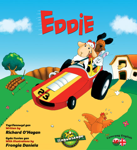 Eddie (Cymraeg/English) (Downloadable eBook)
