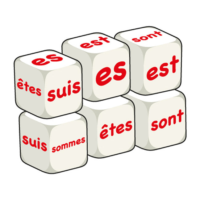French Être (pack of 6 dice)