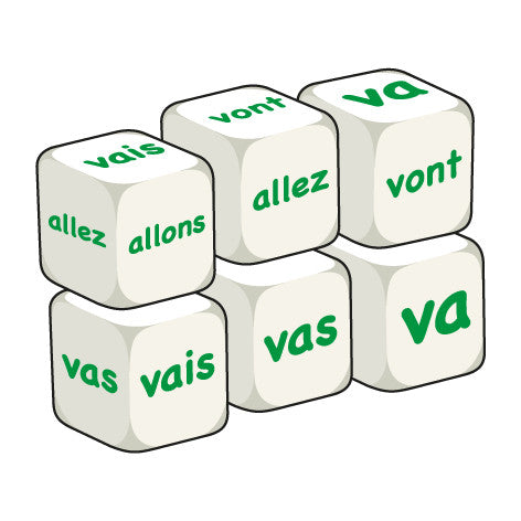 French Aller (pack of 6 dice)
