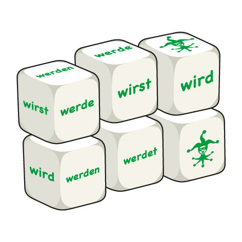 German Werden (pack of 6 dice)