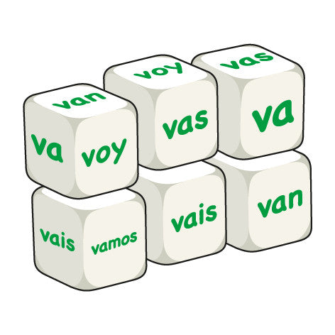 Spanish Ir (pack of 6 dice)