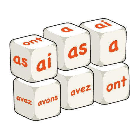 French Avoir (pack of 6 dice)
