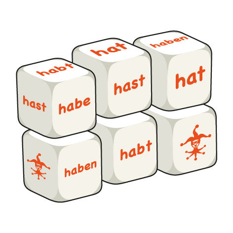 German Haben (pack of 6 dice)