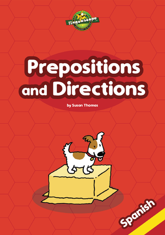 Prepositions and Directions - Spanish (Reproducible eBook)