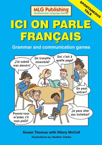 Ici on parle français - Grammar and communication games (Reproducible eBook)