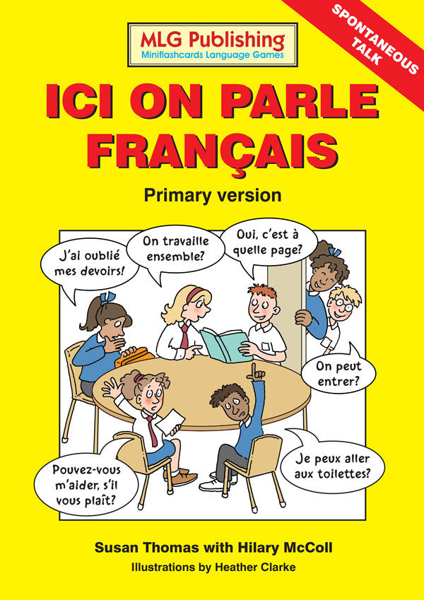 Ici on parle français - Primary Version (Reproducible eBook)