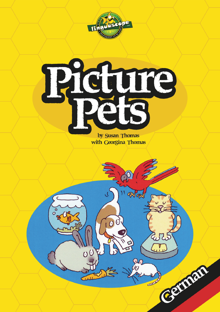 Picture Pets - German (Reproducible eBook)