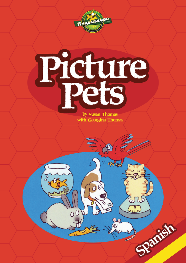 Picture Pets - Spanish (Reproducible eBook)