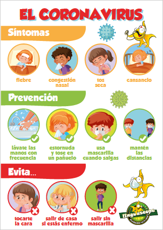 """El Coronavirus"" poster (downloadable product)"