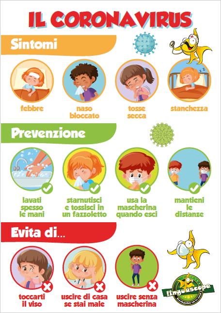 """Il Coronavirus"" poster (downloadable product)"