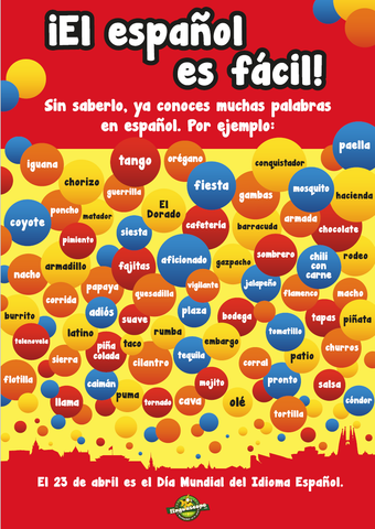 Spanish Language Day poster