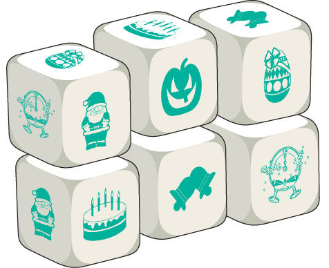 Talking Dice Celebrations (set of 6 identical dice)