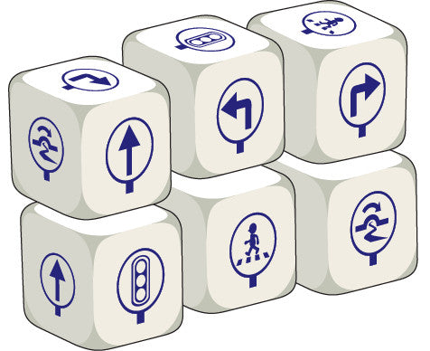 Talking Dice Directions (set of 6 identical dice)