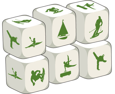 Talking Dice Extreme Sports (set of 6 identical dice)