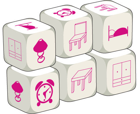 Talking Dice Furniture (set of 6 identical dice)