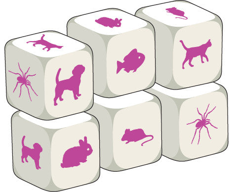 Talking Dice Pets (set of 6 identical dice)