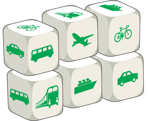Talking Dice Transport (set of 6 identical dice)