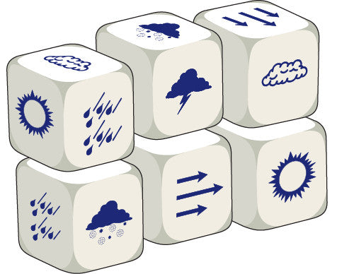 Talking Dice Weather (set of 6 identical dice)