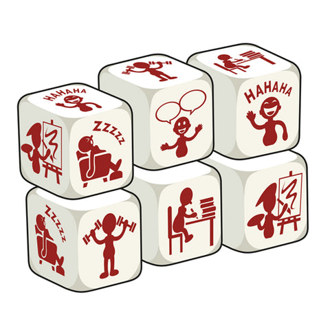 Talking Dice Personality (set of 6 identical dice)