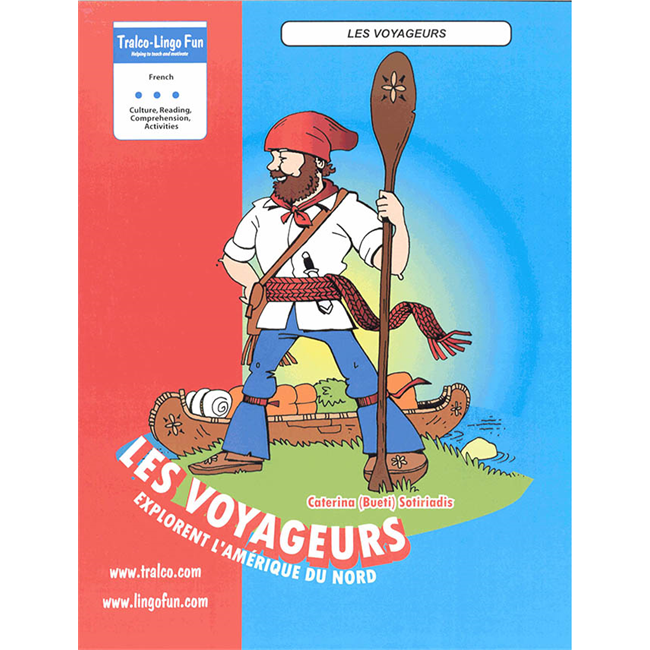 Les Voyageurs explorent l'Amérique du Nord (Downloadable eBook)