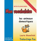 Mon vocabulaire (with flashcards) - Au zoo (Downloadable eBook)