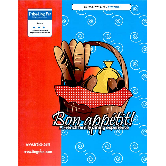 Bon appétit (French version) (Downloadable eBook with link to streamed video)