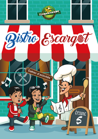 Bistro Escargot Episode 5 (Downloadable eBook with link to streamed video)