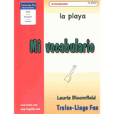 Mi vocabulario - La playa (Downloadable eBook)