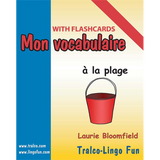 Mon vocabulaire (with flashcards) - À la plage (Downloadable eBook)
