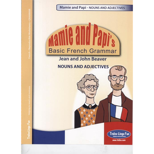 Mamie and Papi's Basic French Grammar - Nouns and Adjectives (Downloadable eBook)