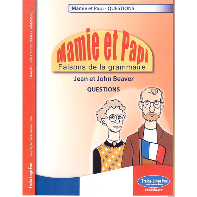 Mamie et Papi - Faisons de la grammaire - Questions (Downloadable eBook)