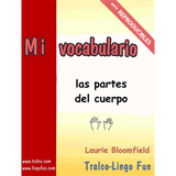 Mi vocabulario - Las partes del cuerpo (Downloadable eBook)