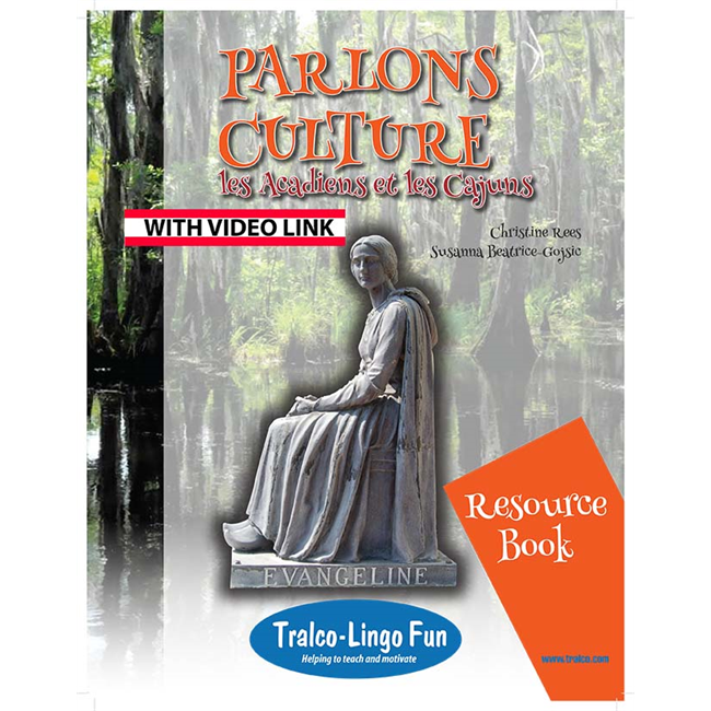 Parlons culture - les Acadiens et les Cajuns (Downloadable eBook with link to streamed video)
