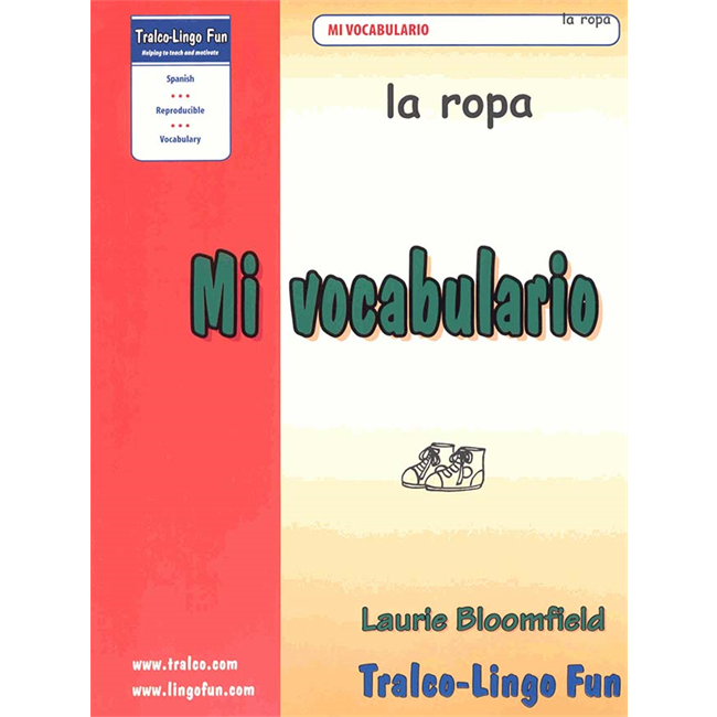 Mi vocabulario - La ropa (Downloadable eBook)