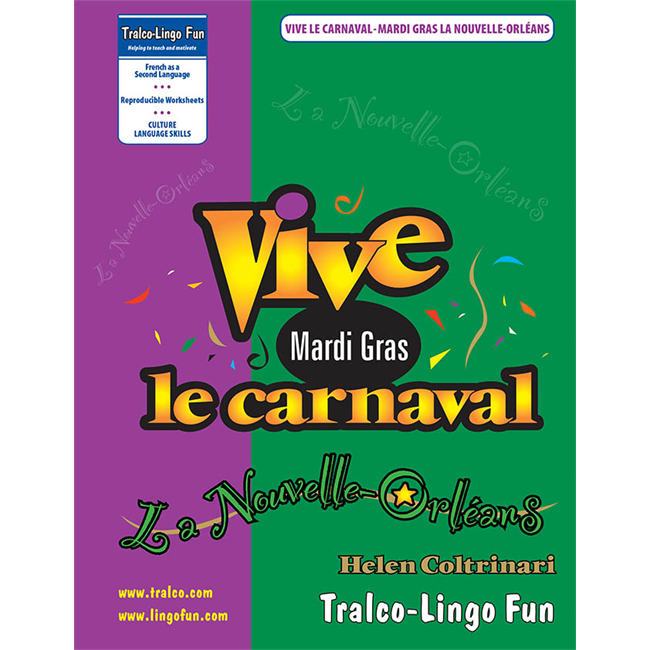 Vive le carnaval - La Nouvelle-Orléans (Downloadable eBook)
