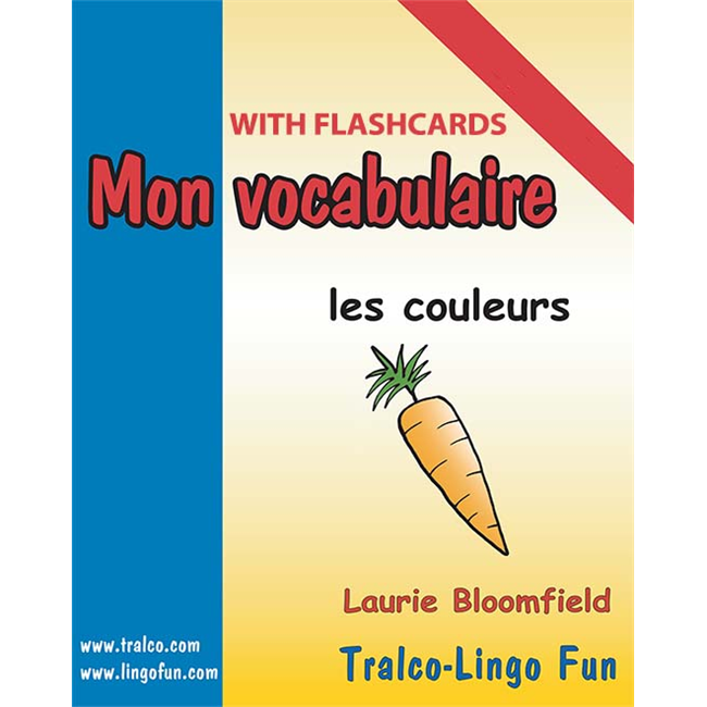 Mon vocabulaire (with flashcards) - Les Couleurs (Downloadable eBook)