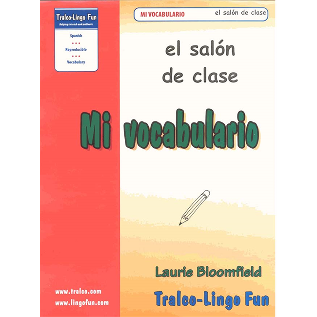 Mi vocabulario - El salón de clase (Downloadable eBook)